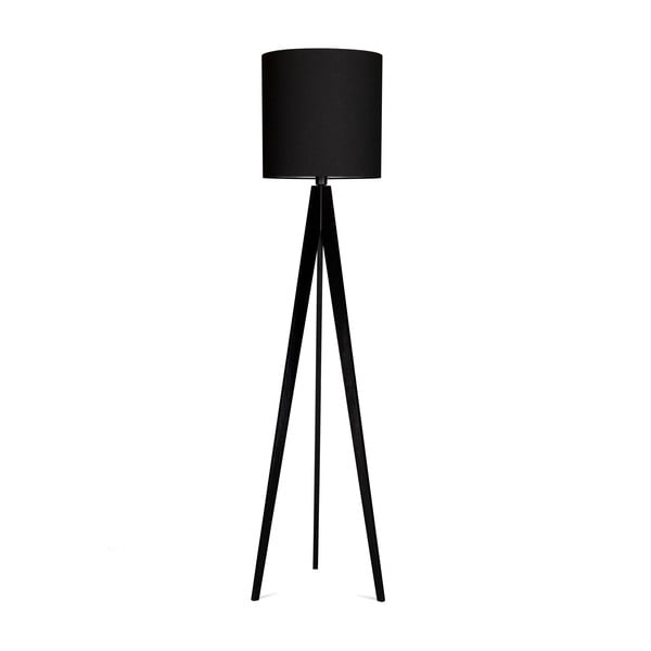 Stojacia lampa 4room Artist Black/Black, 125x33 cm