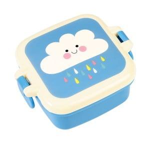 Modrý desiatový box s motívom oblaku Rex London Happy Cloud