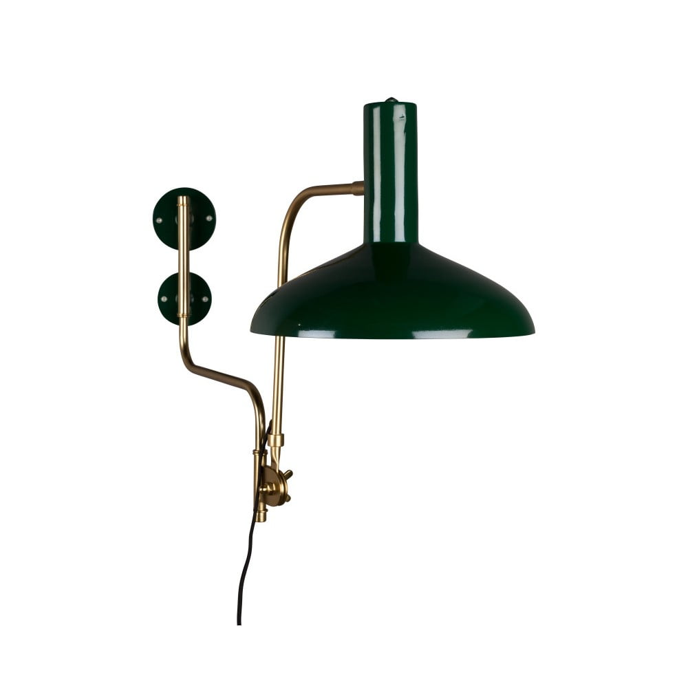 Zelené nástenné svietidlo Dutchbone Devi