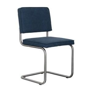 Sada 2 tmavomodrých stoličiek Zuiver Ridge Brushed Vintage
