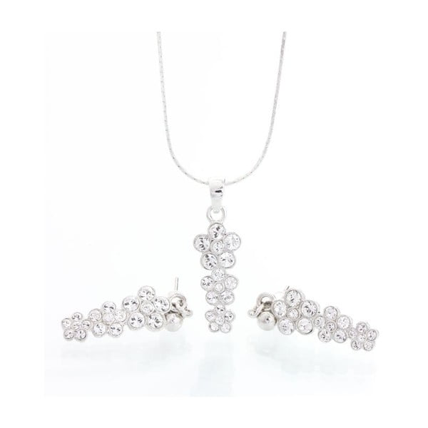 Set náhrdelníku a náušníc Laura Bruni Long Flower