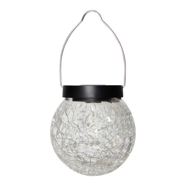 Solárne závesné LED svietidlo vhodné do exteriéru Best Season Glory