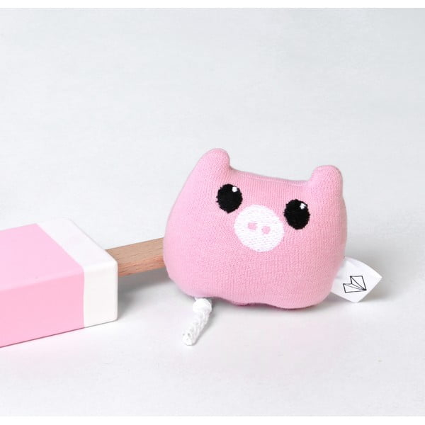 Mini plyšiak Prasiatko v krabičke, ružový