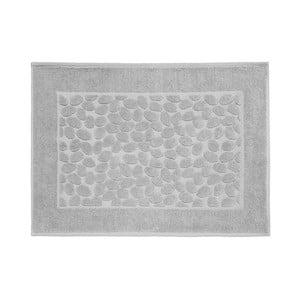 Sivá bavlnená kúpeľňová predlozka Maison Carezza Ciampino, 50×70 cm