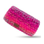 Ružová ručne háčkovaná čelenka DOKE Kelly