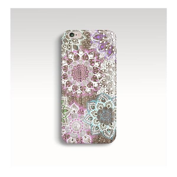 Obal na telefón Wood Mandala Color pre iPhone 6+/6S+
