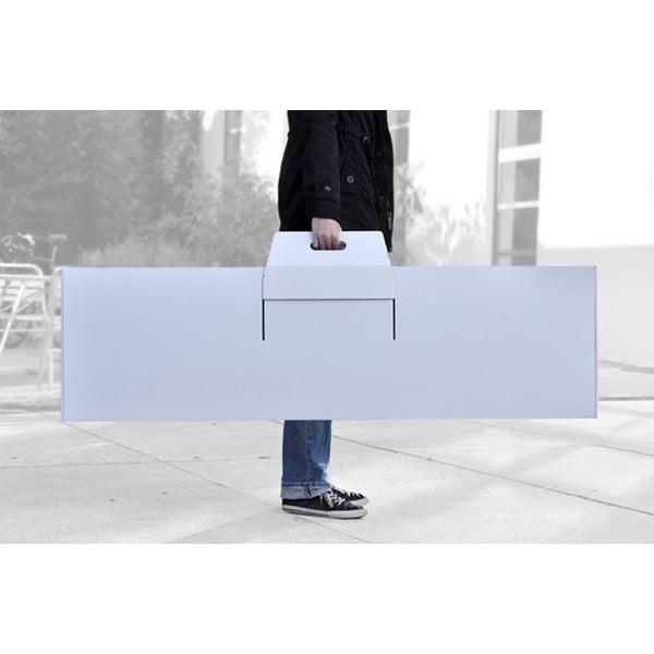 Kartónový stolný futbal Kartoni, biely