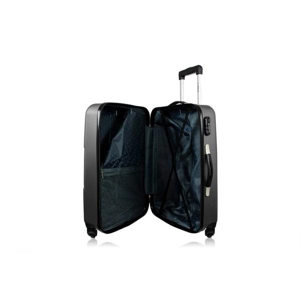 Sada 3 kufrov Josephee, sivá