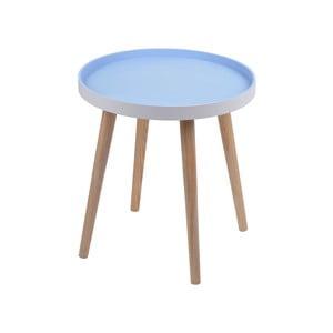Modrý stolík Ewax Simple Table, 48cm
