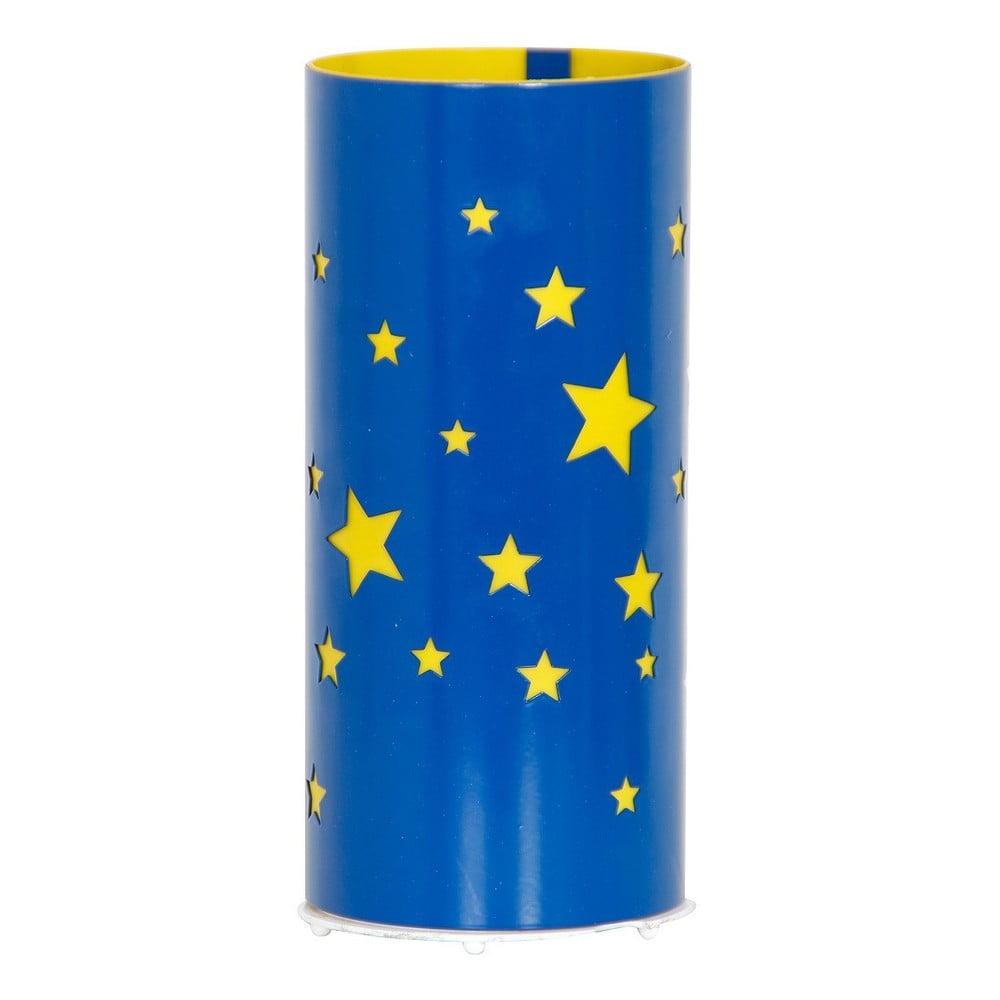 Modrá stolová lampa Glimte Star Small