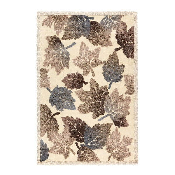 Vlnený koberec Dama 632 Crema, 120x160 cm