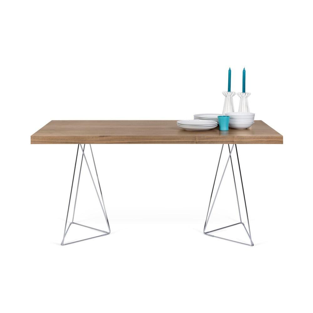 Hnedý stôl TemaHome Multi, 180 cm