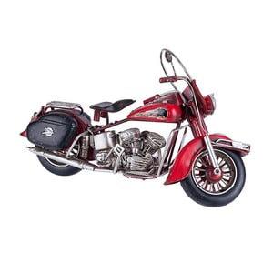Dekoratívny model Red Motorcycle