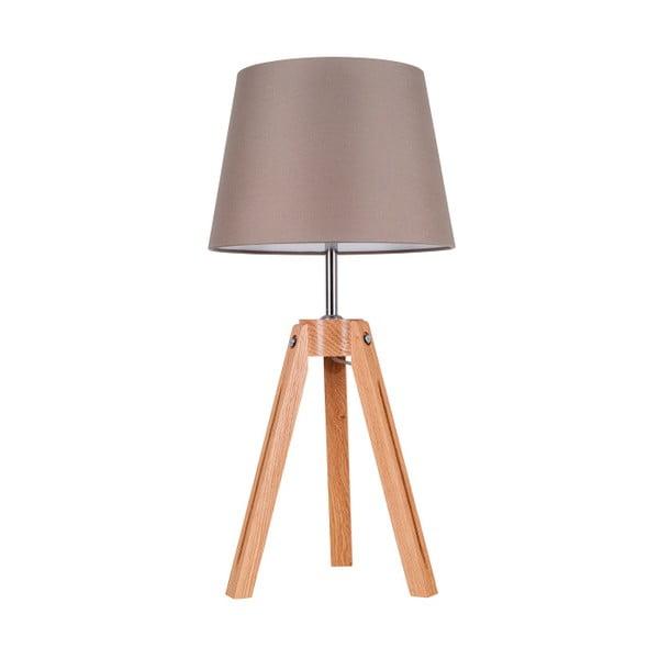 Stolová lampa Tripod Britop, sivá