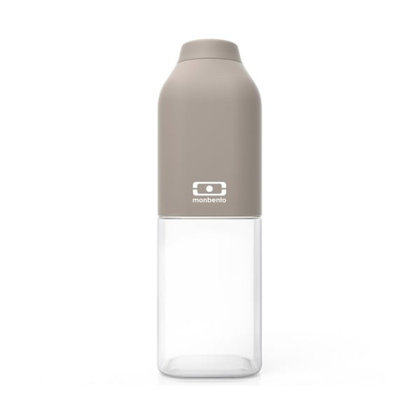 Sivá fľaša Monbento Positive, 500 ml