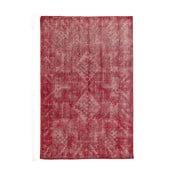 Červený ručne viazaný vlnený koberec LinieDesign Sentimental,200x300cm