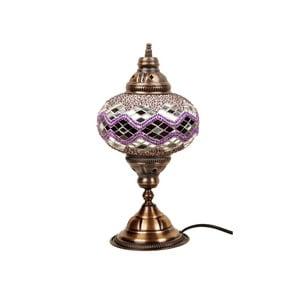 Sklenená lampa Homemania Hades, ⌀17cm