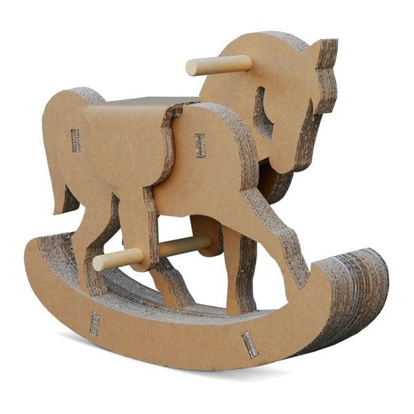 Kartónový hojdací koník Cavallino
