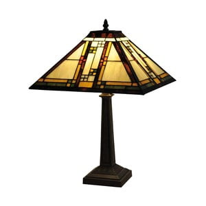 Tiffany stolná lampa Yellow