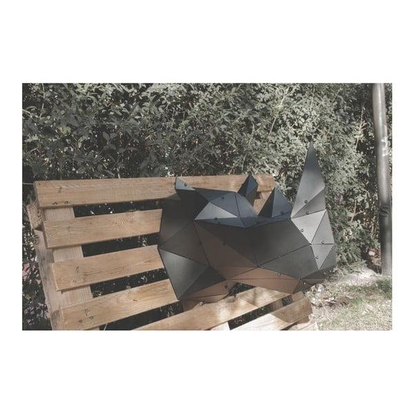 Nástenná kovová dekorácia Rhino