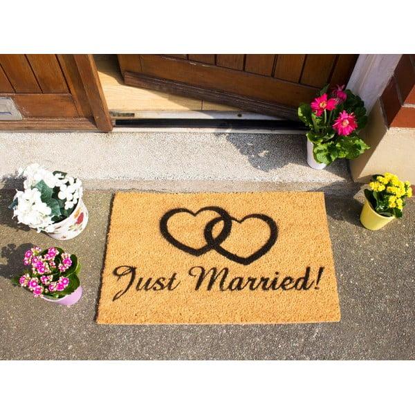 Rohožka Artsy Doormats Just Married, 40x60cm