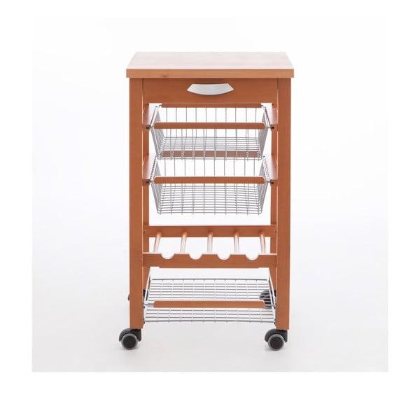 Servírovací stolík z bukového dreva Arredamenti Italia Arturo