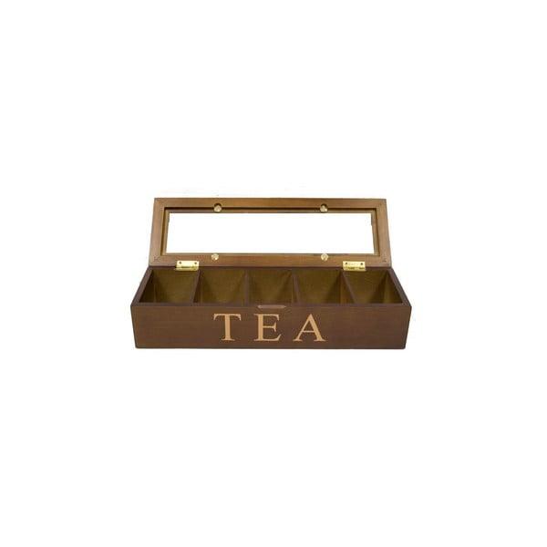 Krabička na čaje Patina