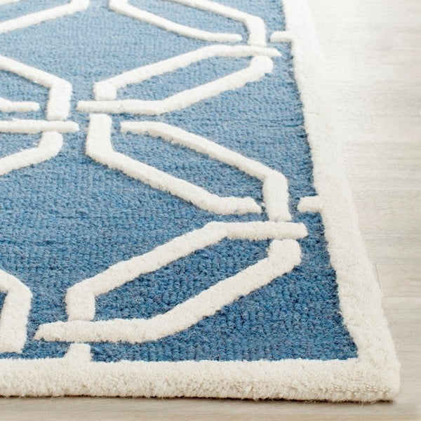Vlnený koberec  Safavieh Mollie Water, 121x182 cm