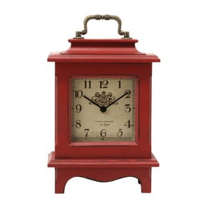 Stolové hodiny Retro Red