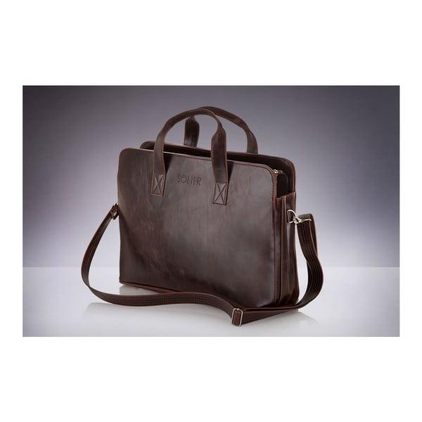 Pánska taška Solier S05 Brown