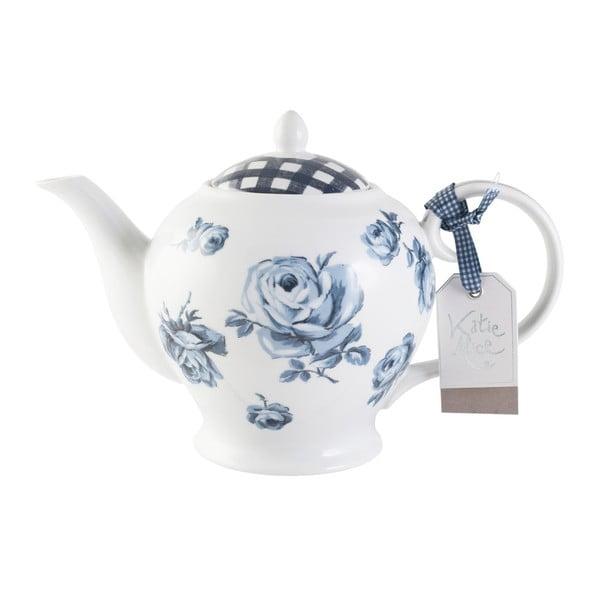 Porcelánová čajová kanvica Creative Tops Vintage Indigo, 1,2 l