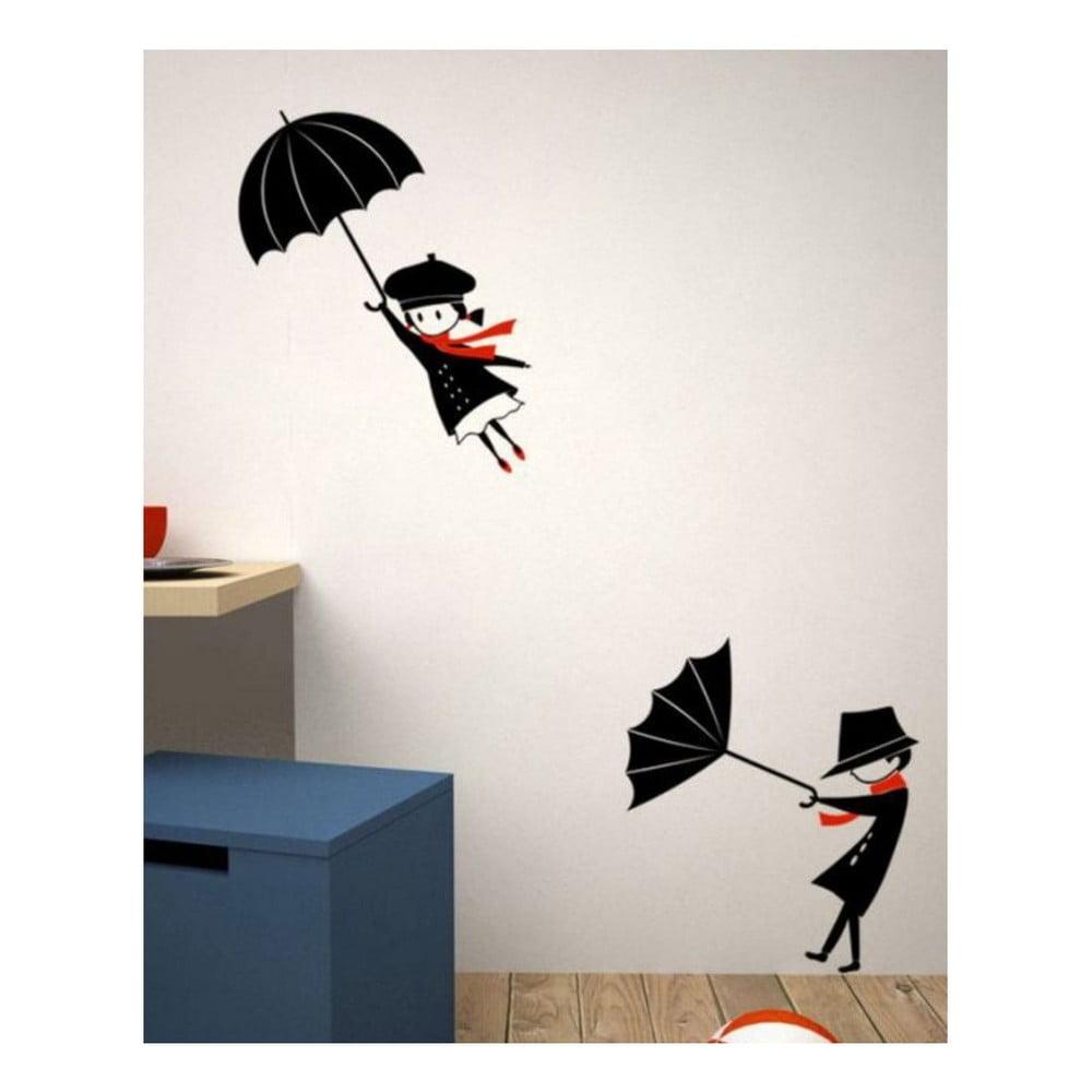 Dekoratívna nálepka na stenu Umbrella