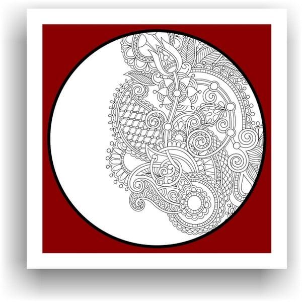 Obraz na vymaľovanie Color It no. 98, 50x50 cm