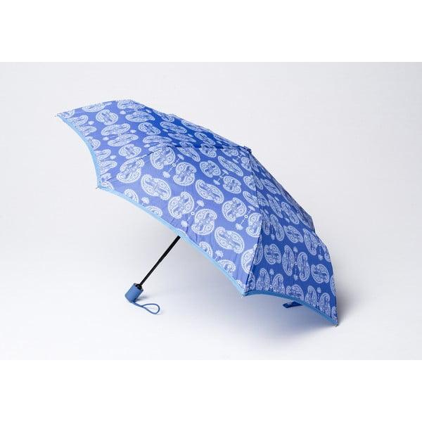 Skladací dáždnik Cashmere, modrý