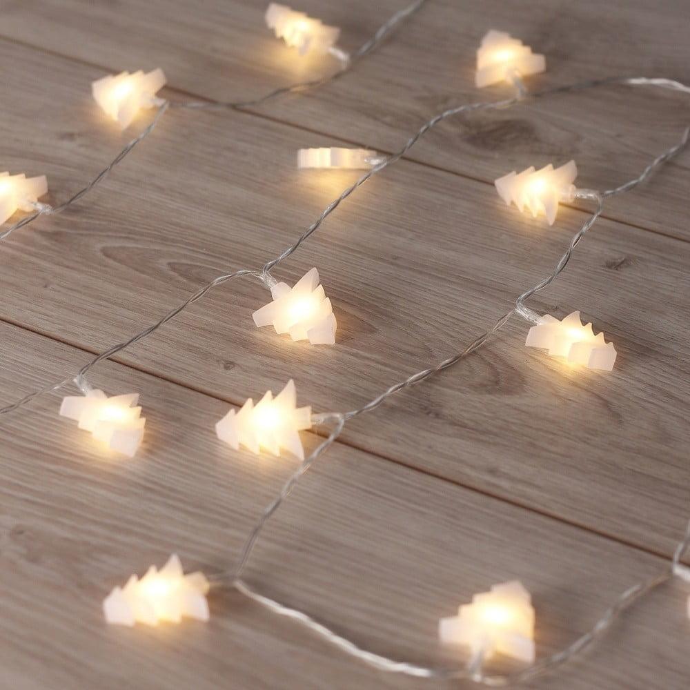 LED svietiaca reťaz v tvare stromčekov DecoKing Tree, 20 svetielok, dĺžka 2,4 m