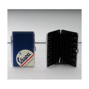 Puzdro na platobné karty/vizitky Vespa Blue