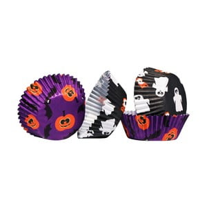 Papierové košíčky na Cupcakes Halloween Medium, 60 ks