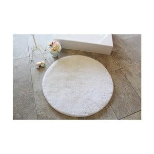 Svetlobéžová kúpeľňová predložka Confetti Bathmats Colors of Ecru, ⌀90 cm