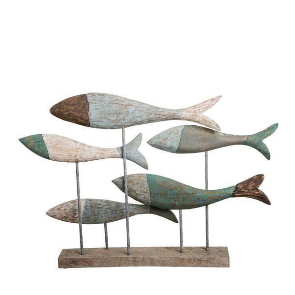 Drevená dekorácia Ixia Fishes