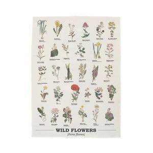 Utierka z bavlny Gift Republic Wild Flowers, 50 x 70 cm