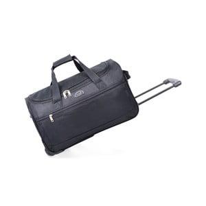 Cestovná taška na kolieskach Voyage Black, 43 l