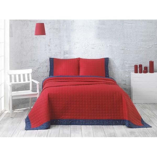 Prikrývka s vankúšom Jolly Red, 240 × 250 cm
