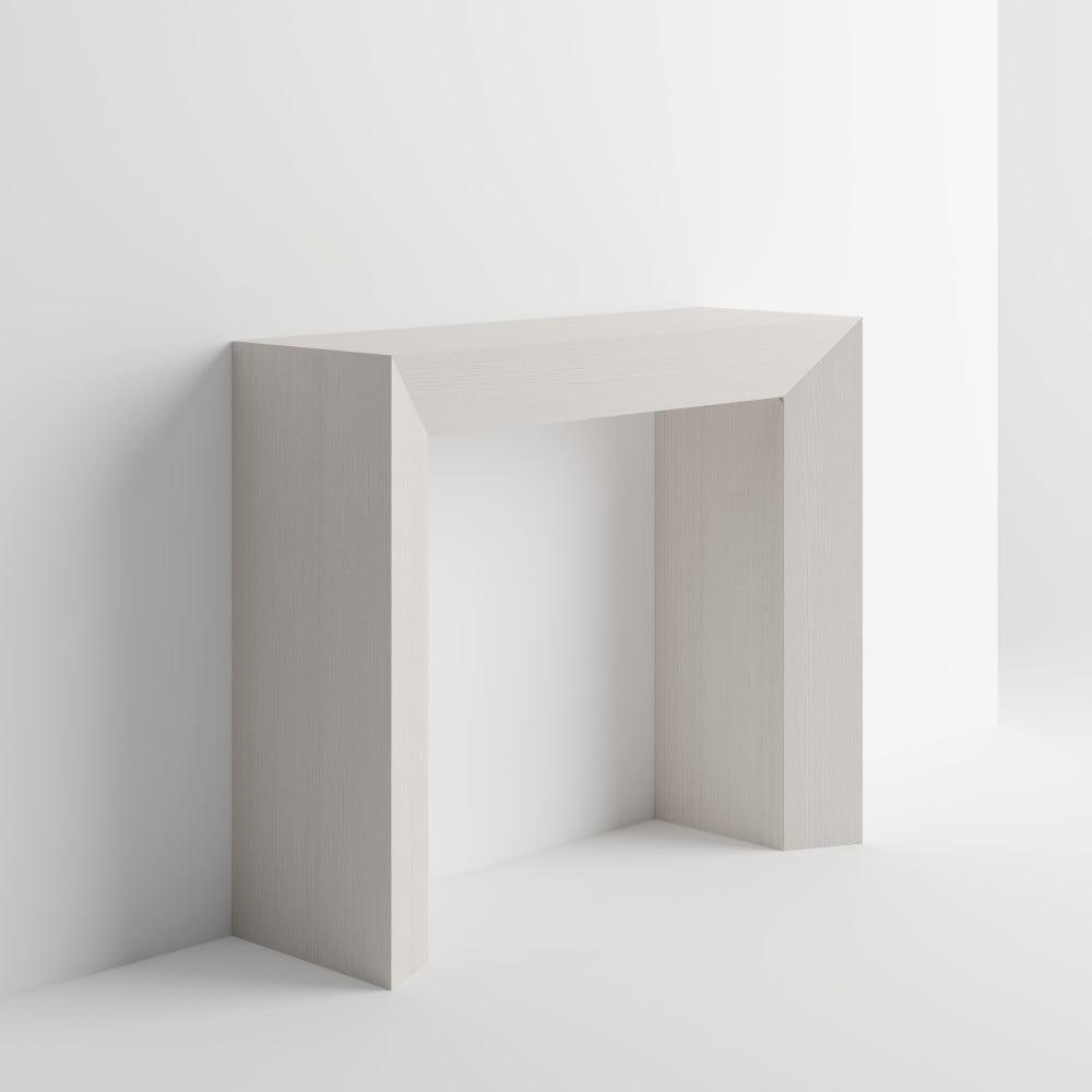Konzolový stolík v dekore bielej borovice MobiliFiver Giuditta