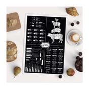 Plagát Follygraph Kitchen First Aid, 42x59,4 cm
