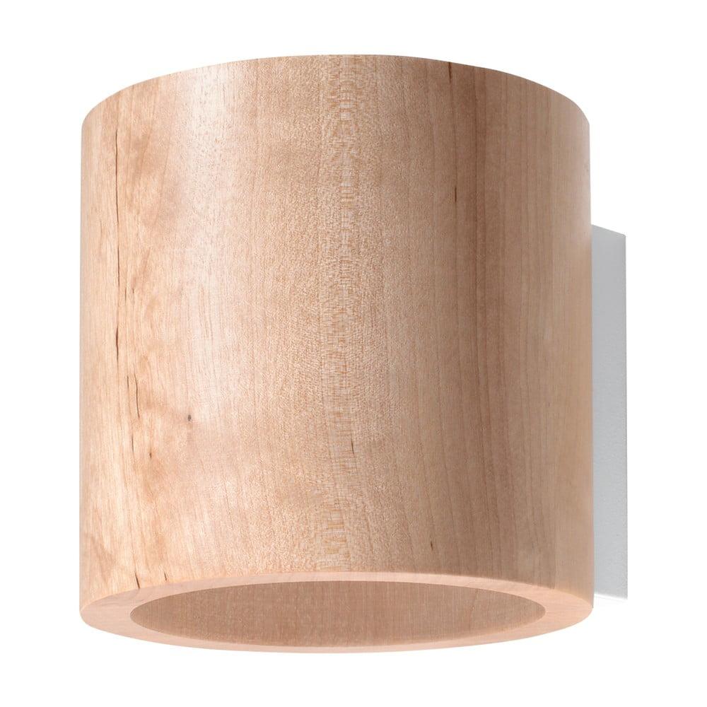 Drevené nástenné svietidlo Nice Lamps Roda