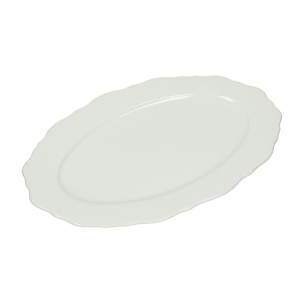 Oválny servírovací tanier Butterfly Bianco