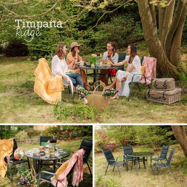 Set záhradného kovového nábytku Timpana Ridge