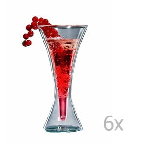 Sada 6 pohárov bloomix Kir Royal