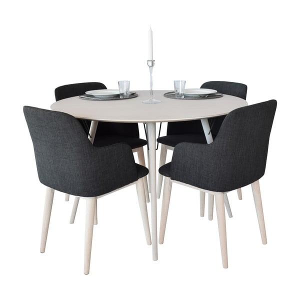 Jedálenský stôl Urban 90 cm, sivý