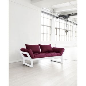 Pohovka Karup Edge White/Bordeaux